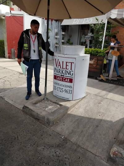 Actúa Guadalajara Contra Valet Parking El Occidental