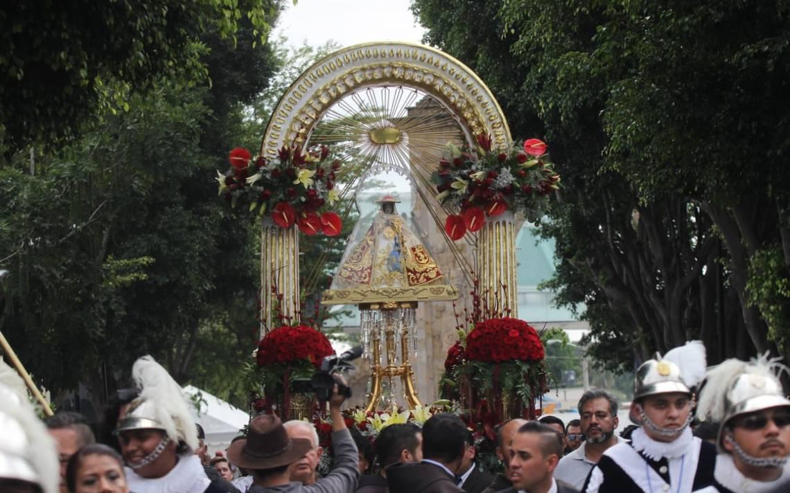 La fe y devoción a La Virgen de Zapopan por cerca de 2 millones de fieles - El Occidental